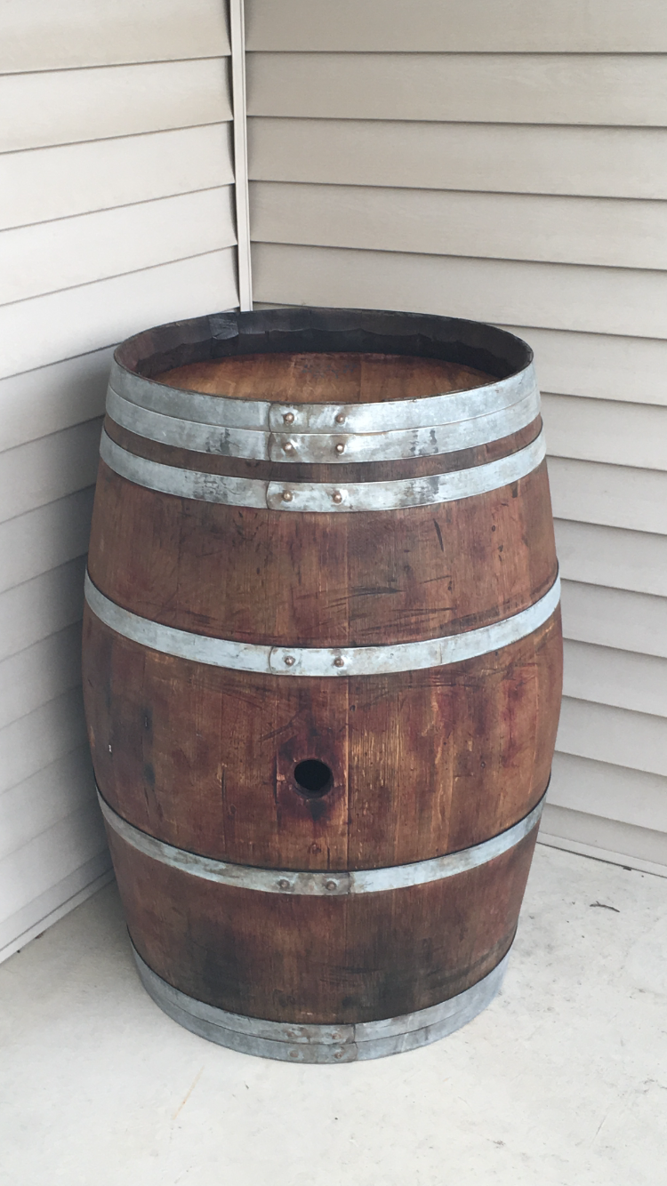 30 Gallon Used Whiskey Barrel Buffalo Barrel Company